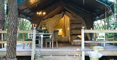 Camping chic  au domaine des ormes: pas tout à fait une maison d'hôtes , pas tout à fait un camping