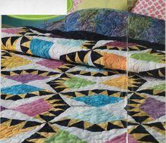 Fruit Salad Quilt Pattern Pieced/Paper Pieced MR