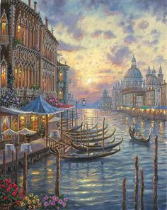 Grand Canal by Robert Finale ~ Venice, Italy