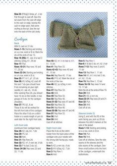 little cotton rabbits free knitting Barbie Knitting Patterns, Knitted Doll Patterns, Animal Knitting Patterns, Knitting Dolls Clothes, Crochet Doll Clothes, Sewing Dolls, Knitted Dolls, Doll Clothes Patterns, Dolls Dolls