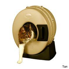 Litter Spinner Cat Litter Box   Overstock.com