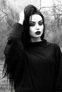 Gothic Ladies | Beauty | Fashion | Costume | Creativity | Couture | Culture | Darya Goncharova