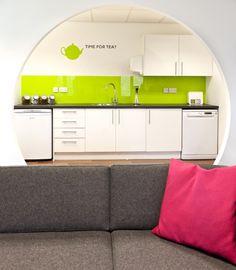 Curo | Tea point. Interaction Case Study | Curo Housing Organisation | Bath | Creative Office Refurbishment by Interaction.