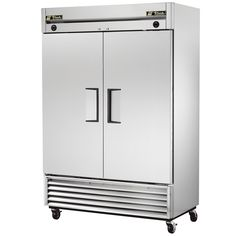 True T49-DT Two Section Dual Temp Reach In Combination Refrigerator / Freezer