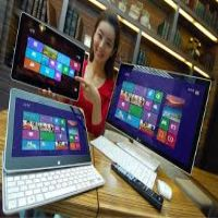 With the Windows 8 launch just around the corner, LG is the latest to unveil its new-OS running wares with an all-in-one PC and tablet-notebook hybrid. Windows 8, Windows Phone, Contract Phones, Windows 10 Microsoft, Robotics Companies, Cheap Smartphones, Laptop Brands, All In One Pc, Phone Deals