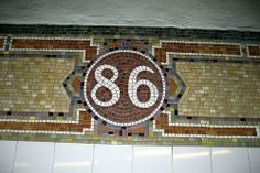 NYC - UES: 86th Street Subway Station