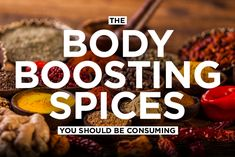 Hoping for a healthy new year? You may want to read up about these amazing body boosting spices. We've compiled a list of our favourite spices and all their fantastic qualities. Which one will you add to your dinner tonight?