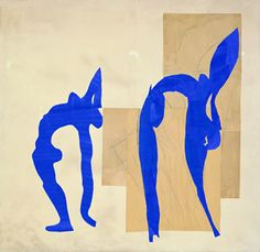 Les acrobates Artist: Henri Matisse Completion Date: 1952 Style: Abstract Expressionism Genre: nude painting (nu)