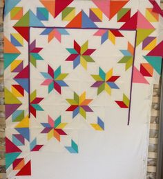 Hunter Star quilt ideas - New pattern coming from Material Girlfriends