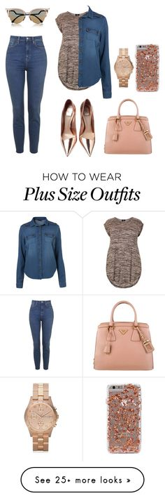 """Sin título #88"" by cafria29 on Polyvore featuring Fendi, Prada and Marc by Marc Jacobs"