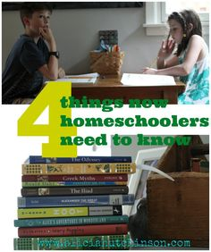 Four things every new homeschooler needs to know.