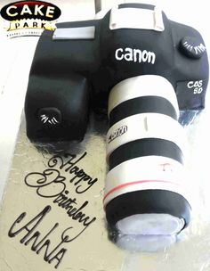 This is a camera ...... cake!! Is anyone interested to get brand of camera cake, like Nikon, panasonic, etc? Perfect #gift for a #Photographer.   Place order online @ www.cakepark.net/ Call us @ 9444915533 #cakepark #3Dcakes