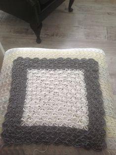 Shell pattern crochet WIP