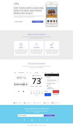 See the live template on Themeforest ➜ http://themeforest.net/item/swey-instapage-mobile-app-coming-soon-landing-page/9341827