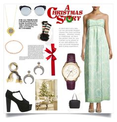 """""""Mery Christmas"""" by alyssa-loosy ❤ liked on Polyvore featuring Sail to Sable, Rebecca Minkoff, Native Gem, Freida Rothman, Gabriela Artigas, Stephane + Christian, Brooks Brothers and Free People"""