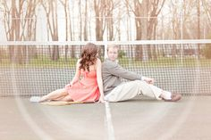 Tennis Engagement Session – Unique Wedding Photography » Vintage Wedding Photography