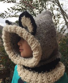 ☀ICE cream Women Men Warm Winter Knit Neck Circle Cowl Snood Multi-purpose Wrap Shawl Scarf