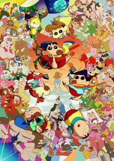 Sinchan my craze Sinchan Wallpaper, Cartoon Wallpaper, Crayon Shin Chan, Cute Cartoon Characters, Cartoon Painting, Type Illustration, Pokemon, Movie Wallpapers, Before Us