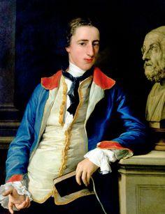 Portrait of Robert Clements, c. 1753, Pompeo Batoni, Hanover, New hampshire, Hood Museum of Art, Dartmouth College