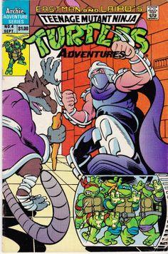 ARCHIE (1989) Teenage Mutant Ninja Turtles Adventures
