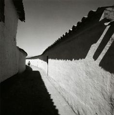Harry Callahan  Cuzco, 1974  Gelatin silver print  From Harry Callahan: The Photographer at Work