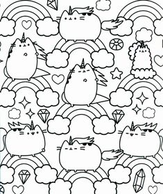Inspired Photo of Pusheen Cat Coloring Pages . Pusheen Cat Coloring Pages Pusheen Cat Coloring Pages 131 Images Free Printable Coloring Pages Pusheen Coloring Pages, Unicorn Coloring Pages, Pattern Coloring Pages, Cat Coloring Page, Free Coloring Sheets, Coloring Pages For Girls, Cartoon Coloring Pages, Doodle Coloring, Animal Coloring Pages