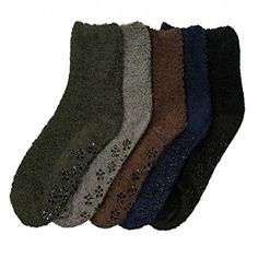New 6 Pairs Women Solid Crew Socks Size 9-11 Cotton Stretch Black Casual Fashion