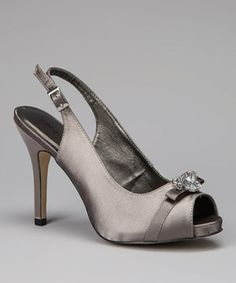 Another great find on #zulily! PACO MENA Portland Cement Jewel Majus Slingback Pump by PACO MENA #zulilyfinds