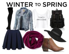 """Winter to Spring"" by arya-sukhadeve ❤ liked on Polyvore featuring мода, H&M, Halogen, Office, Topshop и Miss Selfridge"