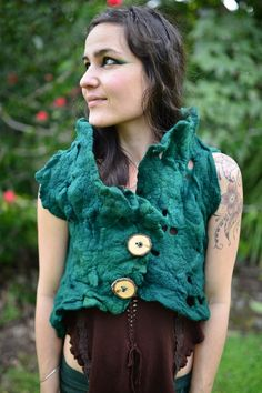 Green felted top (front) found on etsy