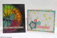 Ronda Palazzari - love the Rose Window card