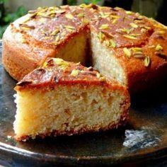 Egg less Vanilla Tea Cake, How to make Egg less Vanilla Tea Cake