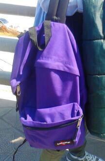 Mon sac à dos me fait penser à le lycée. -Dayana Velásquez