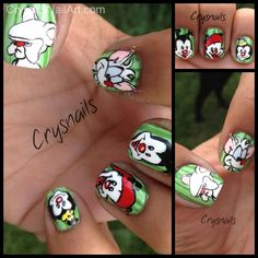 Animaniacs nail art
