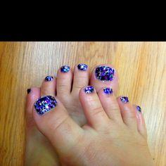 Rock star toes :)