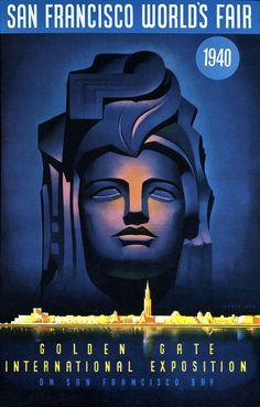 San Francisco World's Fair poster.  1940 http://www.flickriver.com/groups/designingtomorrow/pool/interesting/
