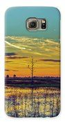 Sunrise Over A Saint Marks National Wildlife Refuge Lagoon Galaxy S6 Case by Bill and Deb Hayes