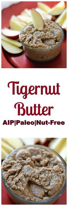 Tigernut Butter 2.0 (AIP/Paleo/Refined Sugar-Free) | Lichen Paleo, Loving AIP