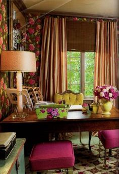 office design gallery australia country office. Love The Fuchsia In This! Office Design Gallery Australia Country