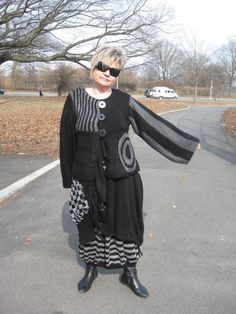 SALE Handmade handknitted lagenlook jacket by KnittingbyScarlatto