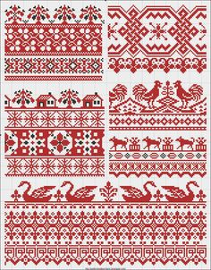Free vintage cross stitch patterns