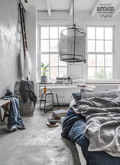 Bed On Floor © Paulina Arcklin