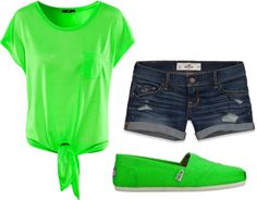 """Green"" by kylieboobug on Polyvore"