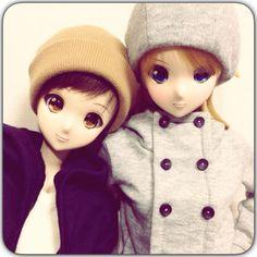 Smart Doll Mirai Suenaga and Kizuna Yumeno by mochiirizenzai