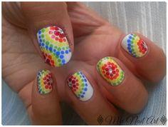 Manicura Multicolor // Reto Puntos MNA