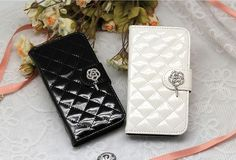 LUMIEL ROSE QUILTING WALLET CASE FOR GALAXY A3. $29.99
