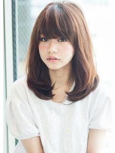 アフロート ジャパン AFLOAT JAPAN 柔らかい内巻きふんわりミディアムヘア