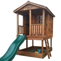 x 9 ft. Sunflower Playhouse with Sandbox Outdoor Living Today 6 ft. x 9 f