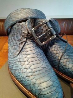 """Floris Van Bommel Men's Shoes - Belt -  """"O Children of Adam Wear your beautiful apparel at every time and place of prayer: eat and drink: but wast not be excess, for Allah loveth not the wasters."""" Surah Araf, 31"""