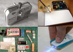Altoid tin craft ideas here by elsie